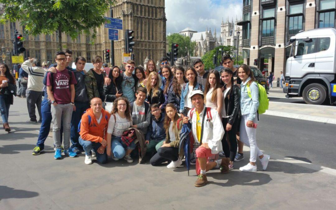 25 de junio.Londres. curso de inmersión lingüística.